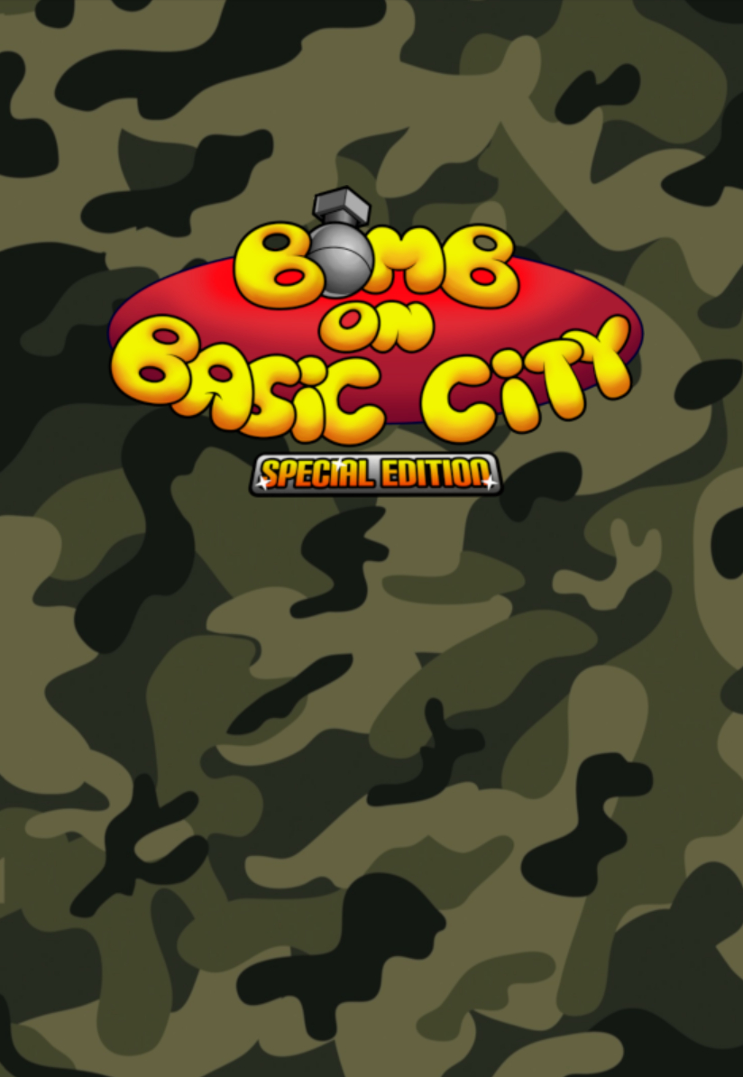 Bomb on basic city boite en carton fourreau