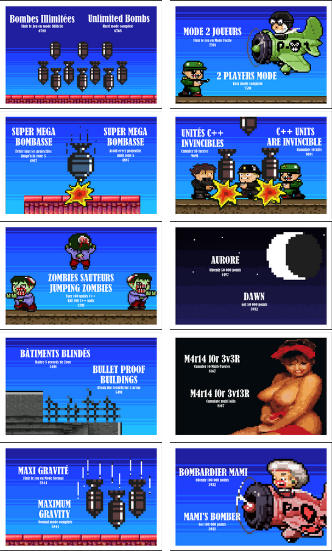 Cartes Postales Bomb On Basic City Mega Drive, Genesis