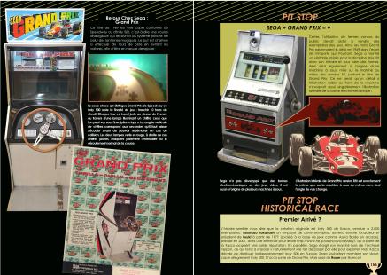 Livre sur Sega Turbo et Moncao GP et les jeux de course de Chez Côté Gamers