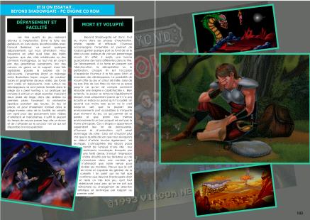 Article sur Beyond Shadowgate sur PC-Engine du magazine de jeu vidéo Côté Gamers