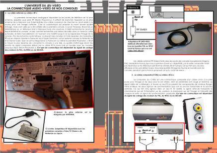 Article sur la connexion audio vidéo des consoles Nintendo du magazine de jeu vidéo Côté Gamers