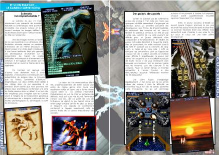 Article sur Cyvern pour le Kaneko Super Nova System du magazine de jeu vidéo Côté Gamers