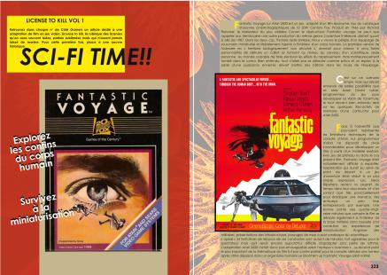Article sur Fantastic Voyage pour Atari 2600 et interview de David Lubar du magazine de jeu vidéo Côté Gamers