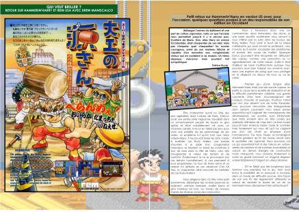 Article et interview sur Hammering Harry, Irem USA et Drew Maniscalco du magazine de jeu vidéo Côté Gamers