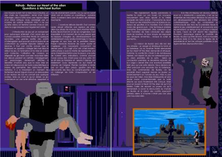 Article et interview pour Heart Of The Alien pour Mega CD du magazine de jeu vidéo Côté Gamers