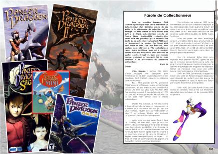 Interview d'un collectionneur de jeux Saturn du magazine de jeu vidéo Côté Gamers