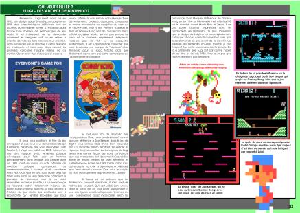 Article sur Luigi le fils adoptif de Nintendo du magazine de jeu vidéo Côté Gamers