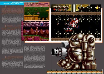 Article sur Tin Head pour Mega Drive / Genesis du magazine de jeu vidéo Côté Gamers