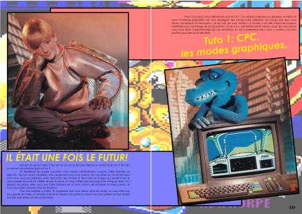 Article sur la programmation en basic pour CPC du magazine de jeu vidéo Côté Gamers