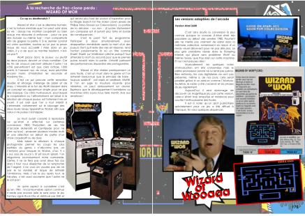 Article sur Wizard Of Wor du magazine de jeu vidéo Côté Gamers