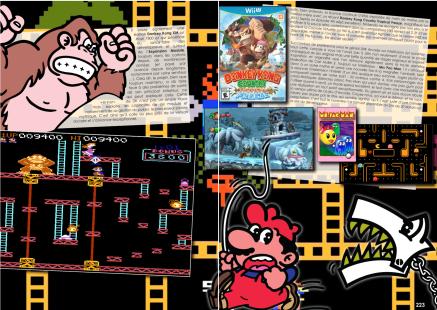 Article sur Donkey Kong du magazine de jeu vidéo Côté Gamers