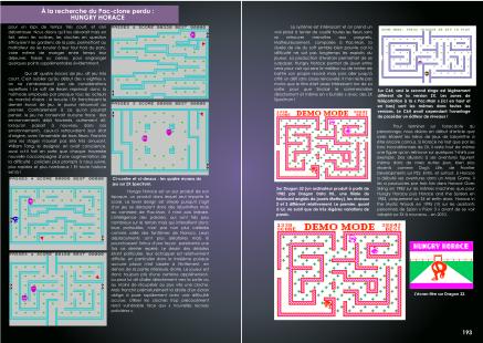 Article sur Hungry Horace du magazine de jeu vidéo Côté Gamers