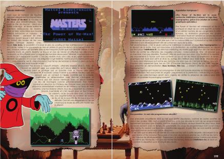 Article sur Master Of The Universe du magazine de jeu vidéo Côté Gamers