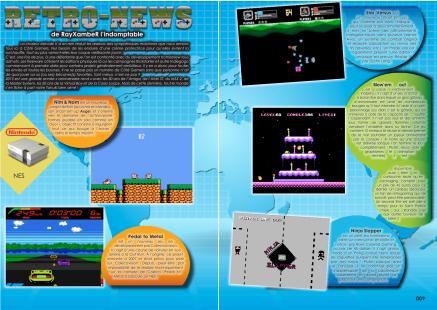 Dossier homebrew du magazine de jeu vidéo Côté Gamers