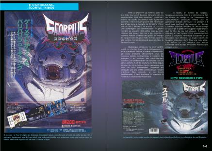 Article sur Scorpius X68000 du magazine de jeu vidéo Côté Gamers