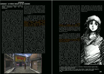Article sur Shenmue et Kickstarter du magazine de jeu vidéo Côté Gamers