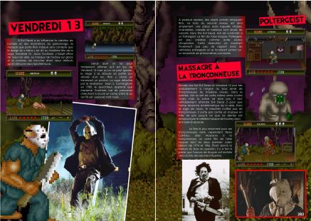 Article sur Splatterhouse de Namco du magazine de jeu vidéo Côté Gamers