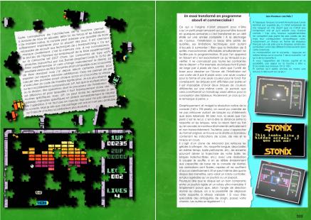 Article sur Stonix et Craig Aker du magazine Côté Gamers