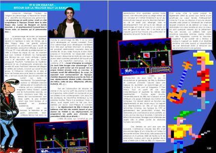 Article sur Billy la Banlieue de jean-philippe Biscay du magazine de jeu vidéo Côté Gamers