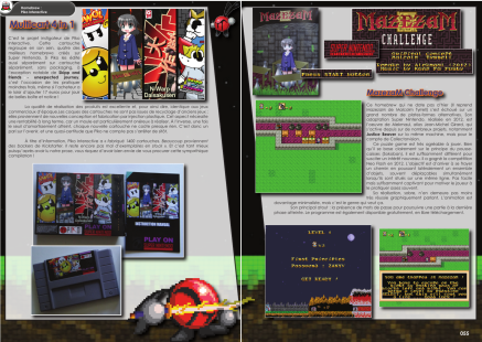 Article sur les jeux SNES Piko interactive du magazine de jeu vidéo Côté Gamers