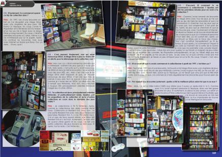 Article sur le collectionneur Pit-56 du magazine de jeu vidéo Côté Gamers