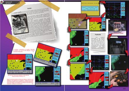 Article sur Wargame pour ColecoVision du magazine de jeu vidéo Côté Gamers