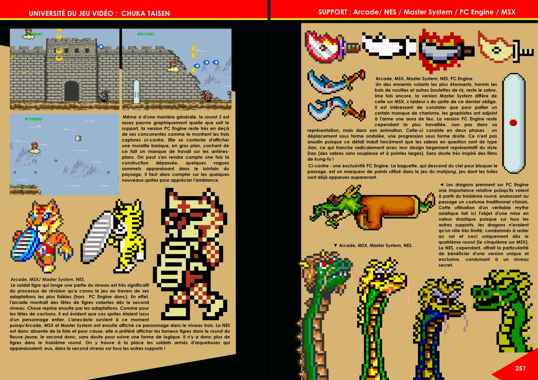 Chuka Taisen Arcade, Famicom, NES, Master System, PC-Engine et Master System article de Côté Gamers