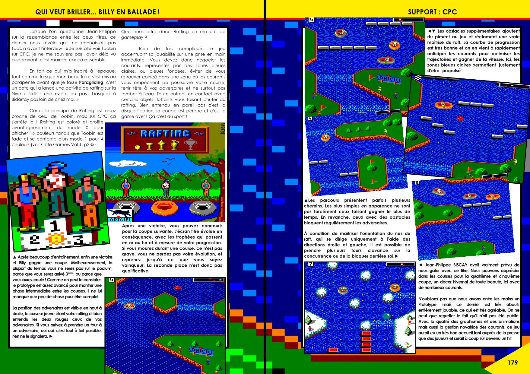 Prototypes de jeux CPC par Jean-Philippe Biscay article du magazine Côté Gamers