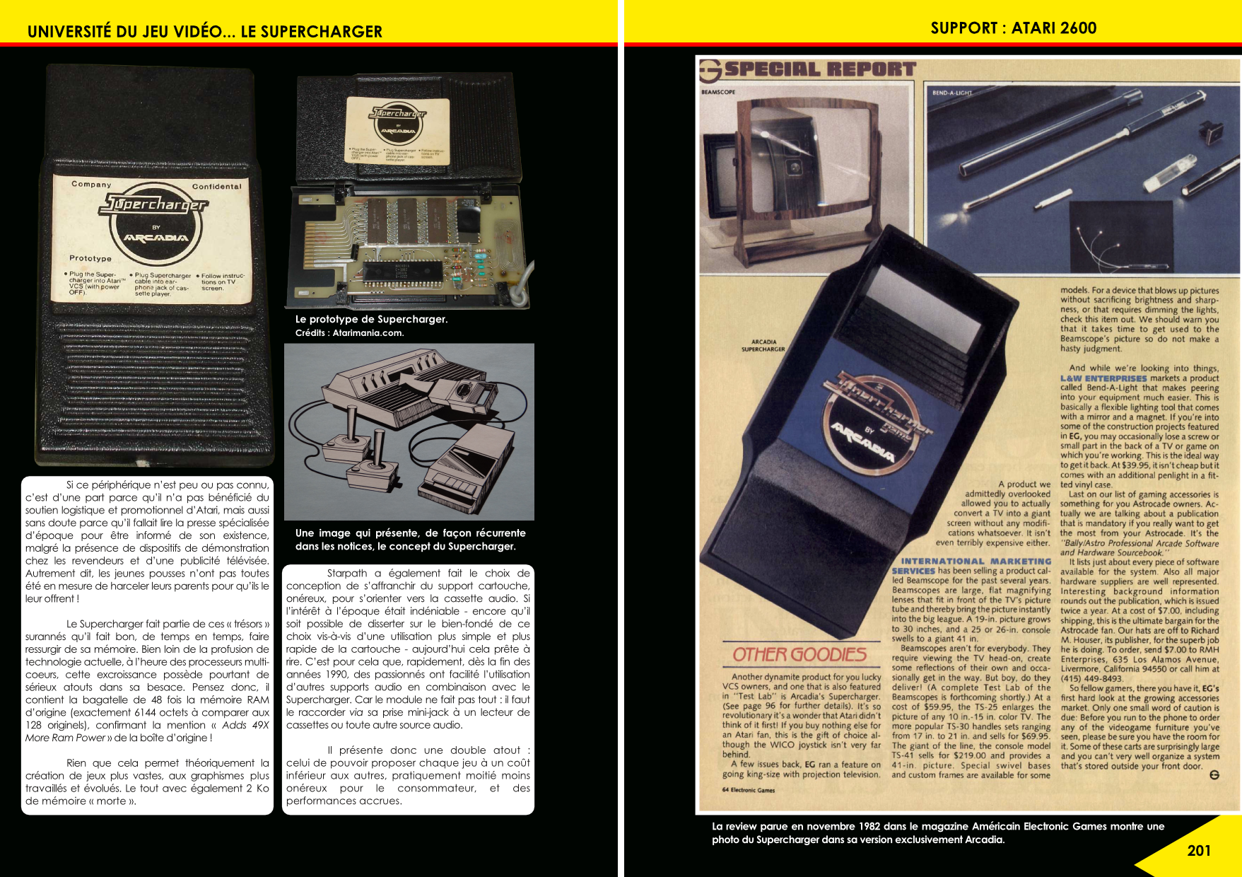 Le Supercharger de l'Atari 2600 article du magazine Côté Gamers