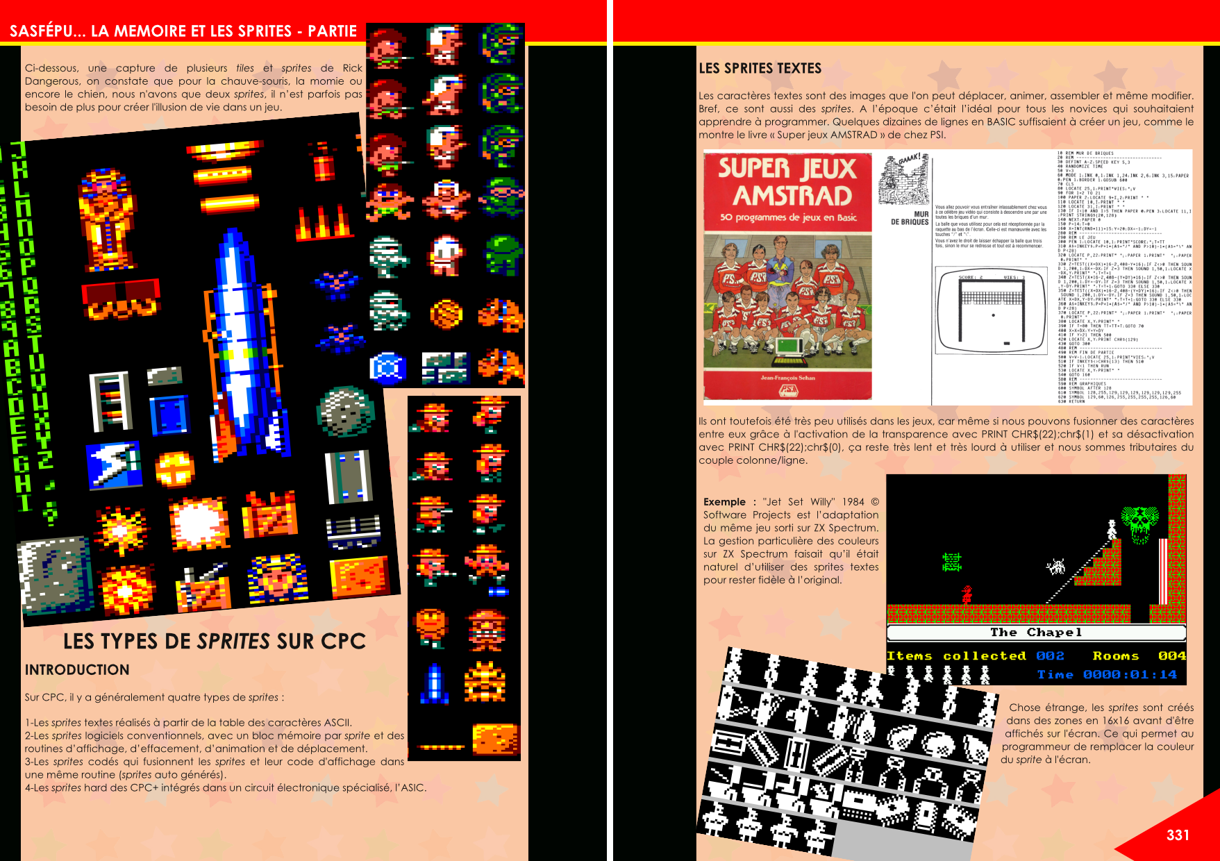 Tutoriel en Basic pour programmer sur CPC article du magazine Côté Gamers