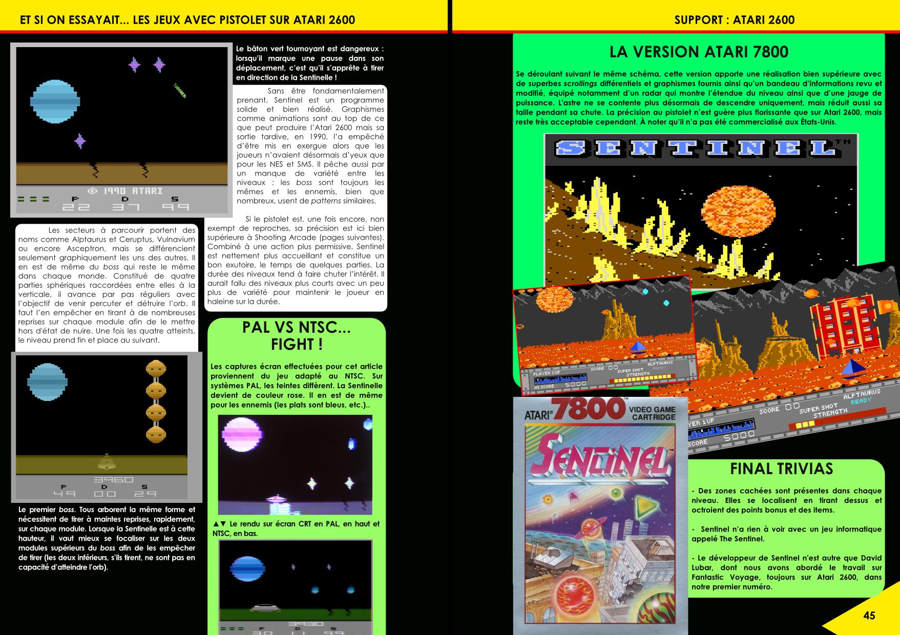 Les jeux avec pistolet sur Atari 2600 article du magazine Côté Gamers