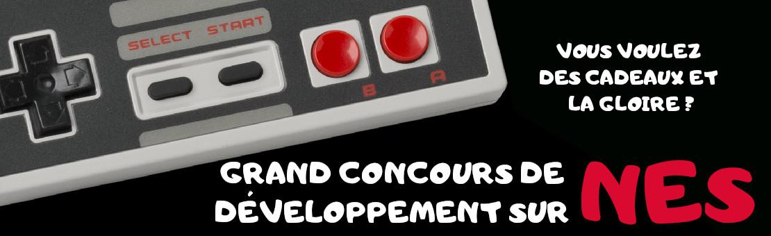 Concours de développement sur Nintendo NES