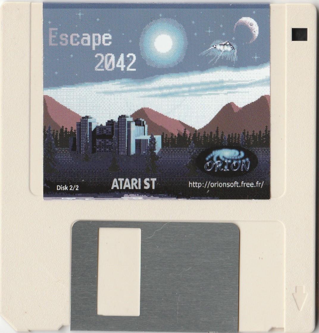 Disquettes du jeu Escape 2042 pour Atari STe par orion Chez Côté Gamers