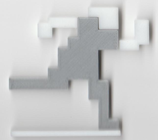 Figurine du jeu Escape 2042 pour Atari STe par orion Chez Côté Gamers