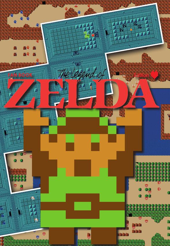 Zelda Fan Book couverture cœur