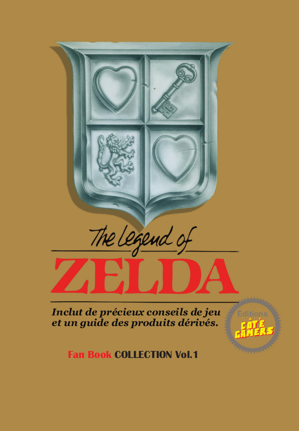 Zelda Fan Book couverture OR