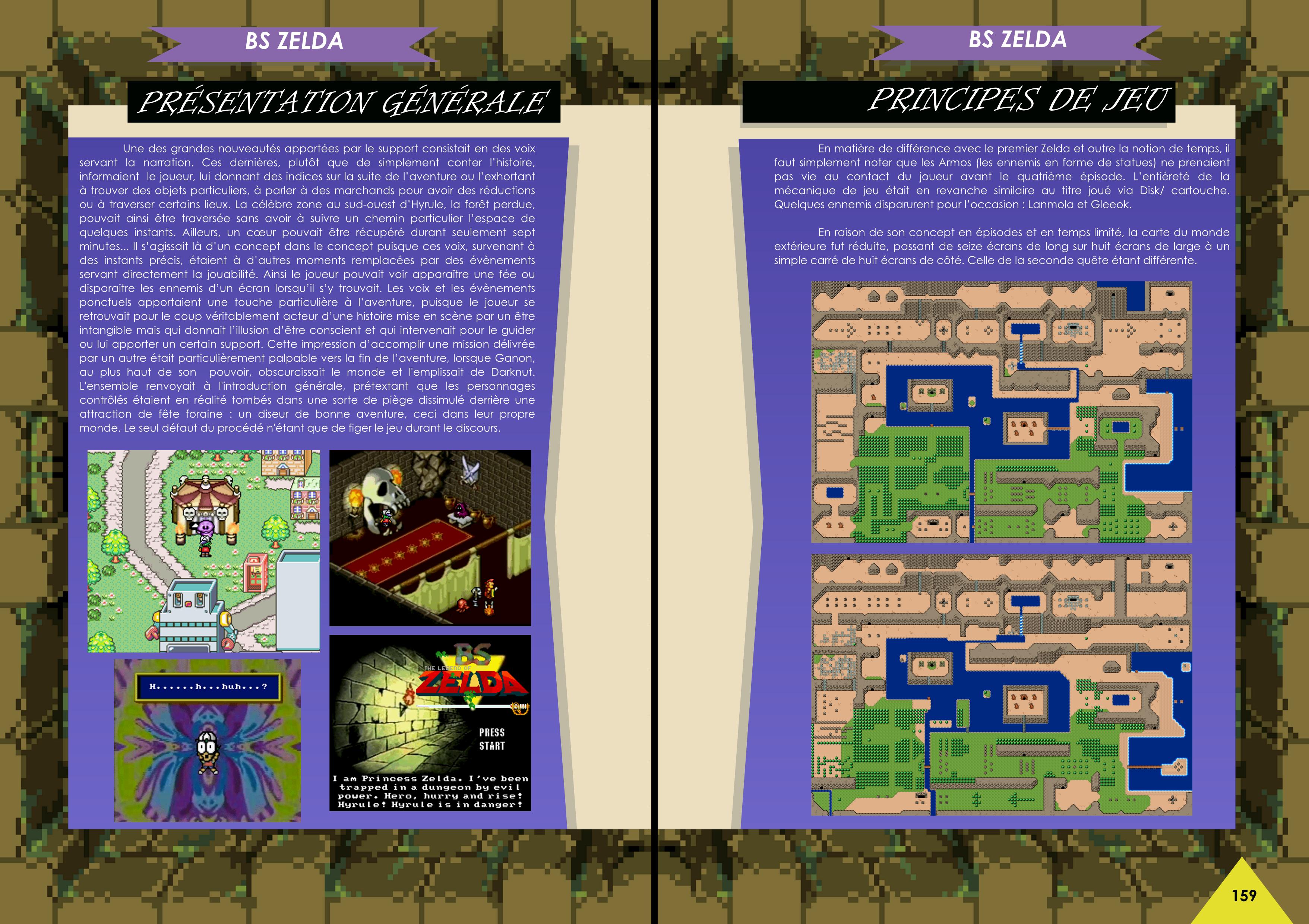 Livre avec BS The Legend Of Zelda Satellaview Super Nintendo /  Super Famicom  de chez Côté Gamers