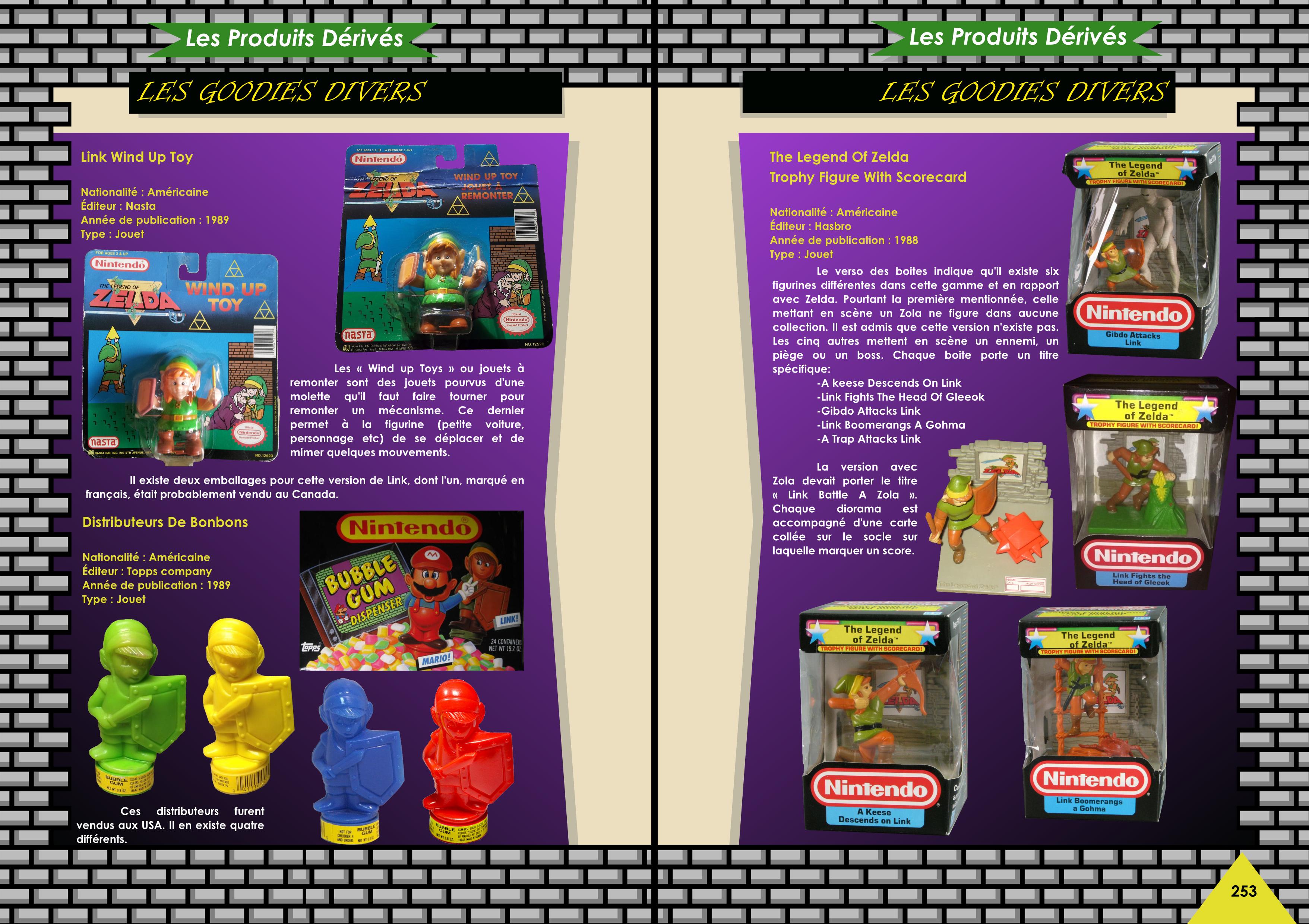 Livre avec les figurines, CD, K7, statues, livres de The Legend Of Zelda de chez Côté Gamers