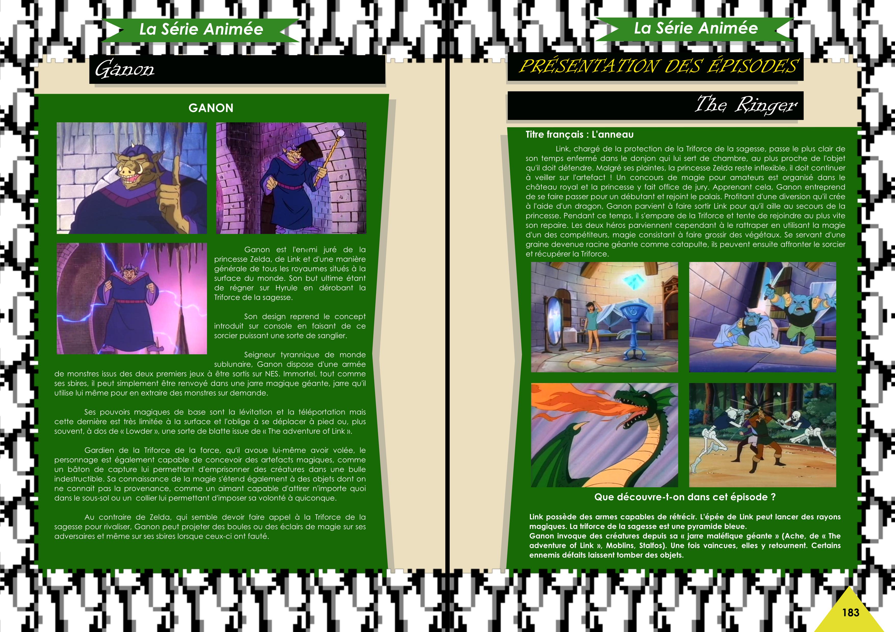 Livre sur The Legend Of Zelda avec le dessin animé Princess Zelda de chez Côté Gamers