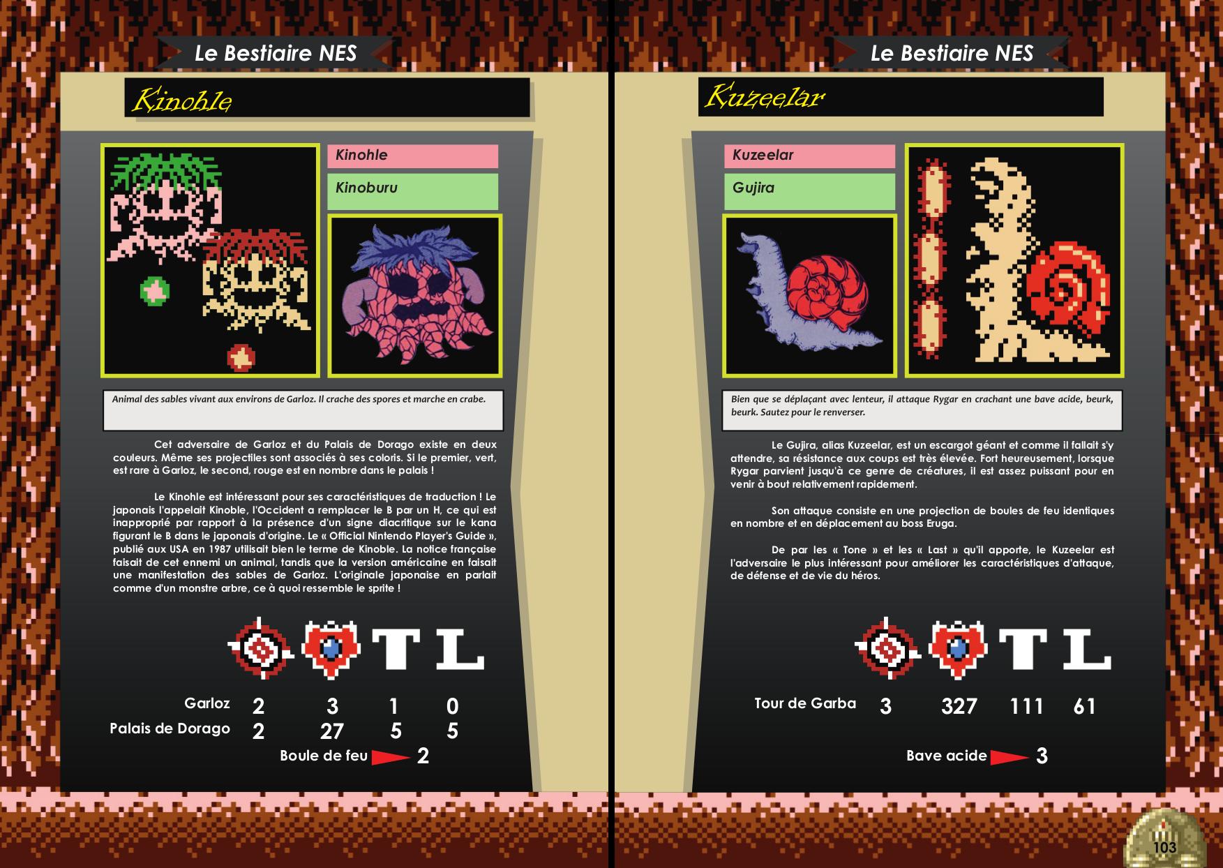 Livre sur Rygar Arcade, Nes avec bestiaire de Côté Gamers