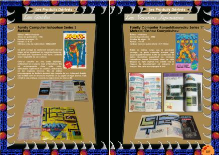 Livre avec les produits dérivés de Metroid sur NES et Metroid II Return Of Samus sur Game Boy de Chez Côté Gamers