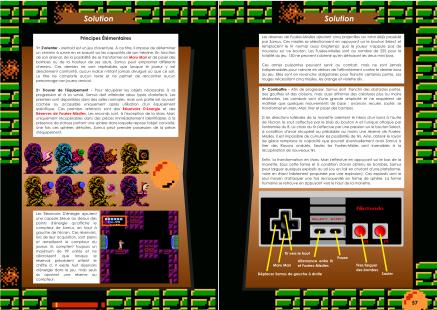 Livre avec la solution de Metroid sur NES Chez Côté Gamers