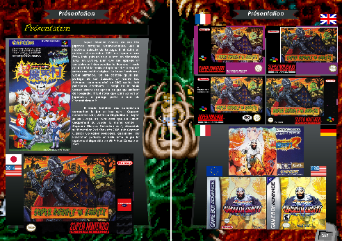 Livre sur Super Ghouls'n Ghosts Super Nintendo et Game Boy Advance de Côté Gamers