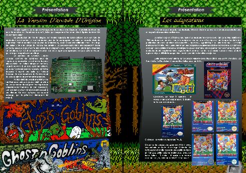 Livre Ghosts'n Goblins Sur PC-88, NES, DOS, Amiga, Atari, C64 et CPC de Côté Gamers