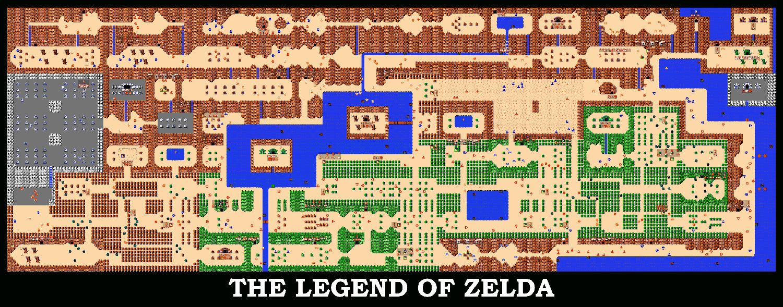 Génération NES poster Zelda