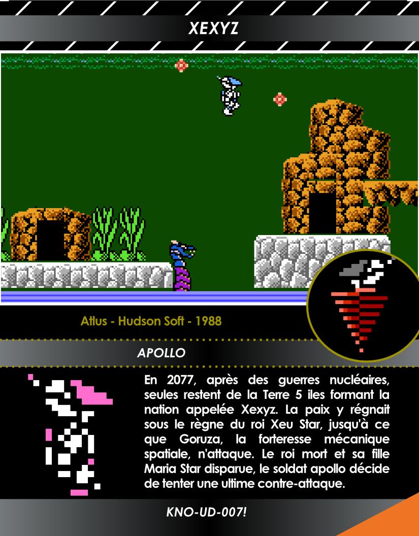 Génération NES carte exclusive 7