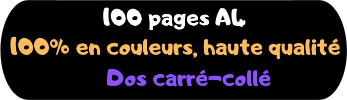 Génération NES 100 pages A4