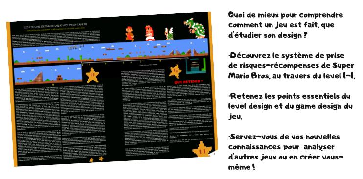 Génération NES extrait game design