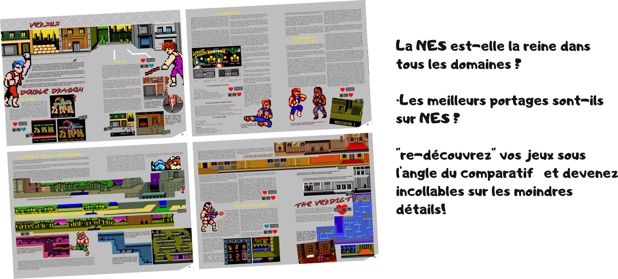Génération NES exemple versus