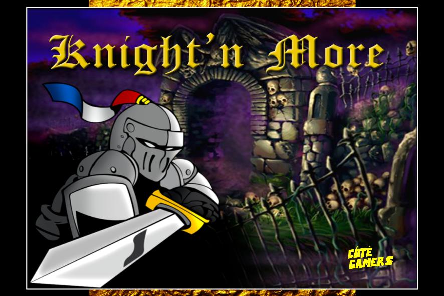 Carte postale de Knight'n More sur Colecovision